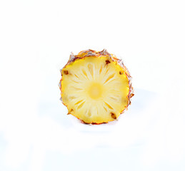 Sliced pineapple a