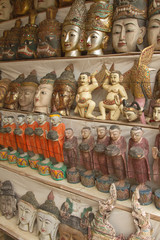 Buddha statue souvenirs from Myanmar