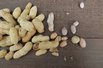 nuts  group of peanuts
