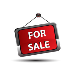 For sale icon banner, selling a house apartment or other