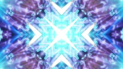 Multicolor Digital VJ Looping Animated Background