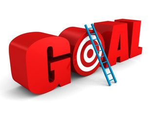 GOAL text with target and success ladder