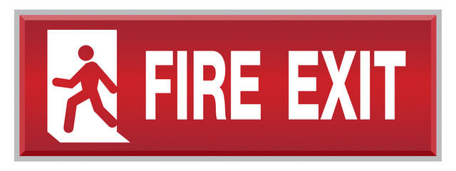 Fire security Sign