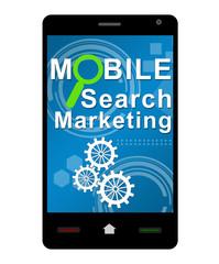 Mobile Search Marketing Smartphone