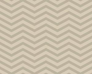 Beige Chevron Zigzag Textured Fabric Pattern Background