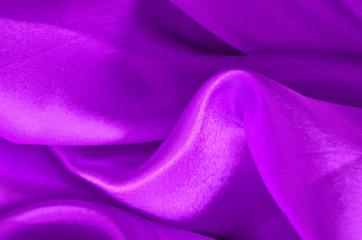 Texture purple satin, silk background