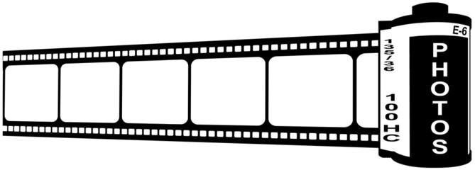 pellicule de film argentique