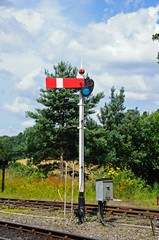 Lower Quadrant Semaphore railway signal © Arena Photo UK