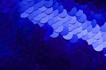 sequin textile texture.
