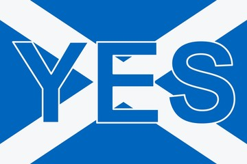 Scottish referendum. YES