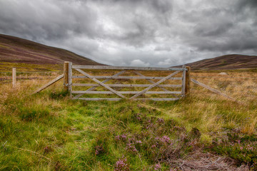 Gate in the Highlands HDR