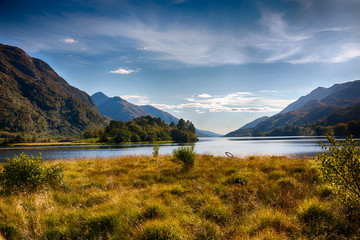 Highlands around Loch Shiel HDR