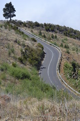 road to el Teide, Tenerife, Spain