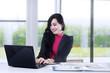 Marketing staff working in office 1