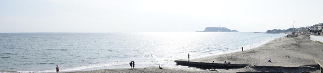 七里ケ浜からの風景