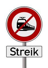 Streik Zugführer