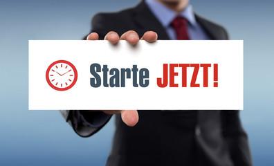 Starte jetzt !