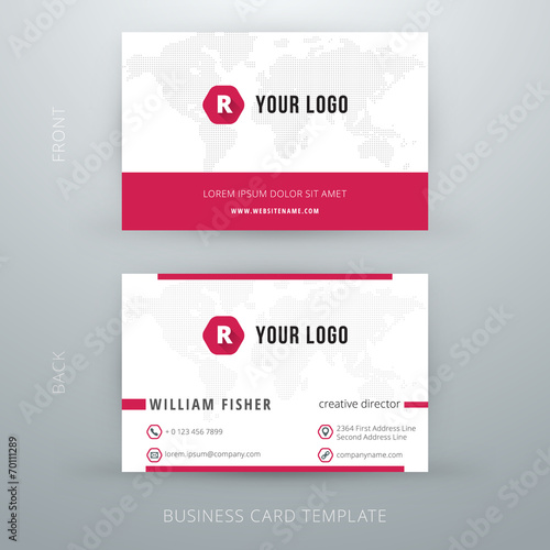 Modern simple business card template buy photos ap images modern simple business card template colourmoves
