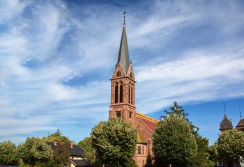 Eglise protestante de Saverne, Alsace, Bas Rhin