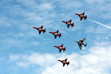 Patrouille Suisse at Payerne Air14
