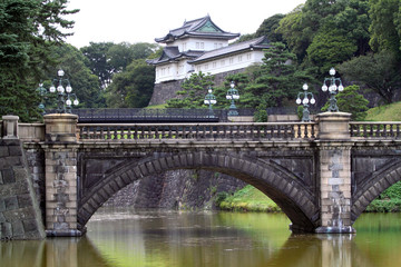 Imperial Palace, Tokyo, Japan..