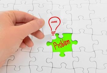 Konzept Problem und Lösung