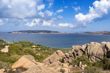 Sardegna, La Maddalena dalla costa di Palau, in Gallura