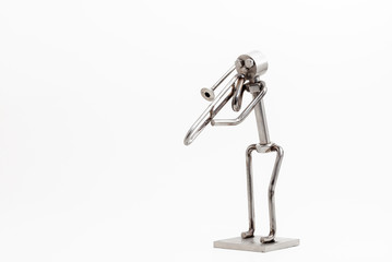 stainless steel Jazz Trombone