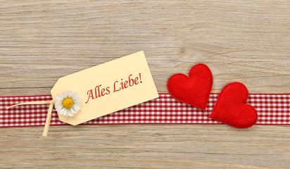 Alles Liebe!