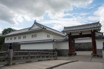 霞城 二ノ丸大手門