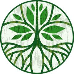 Circular tree series