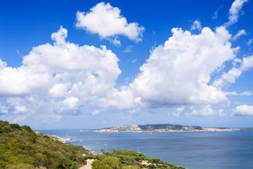 Sardegna, isola de La Maddalena, in provincia di Olbia