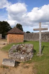 Puit dans le village martyr d'Oradour-sur-glane