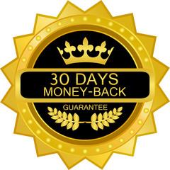 Thirty Days Money Back Guarantee