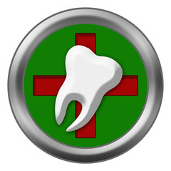 Red Cross Dental Tooth