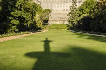 Royal palace park, Madrid