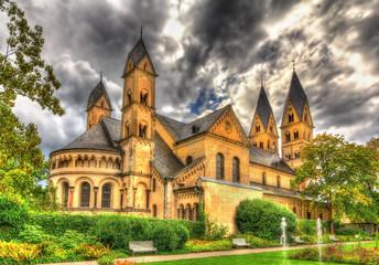 Basilica of St. Castor in Coblenz, Germany