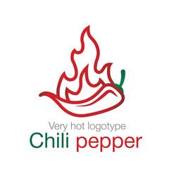 Chili pepper logo