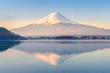 Mt Fuji in the early morning - 70119286