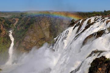 The Ruacana waterfalls, Namibia