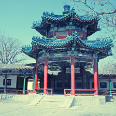 ancient pavilion , Beijing ,China