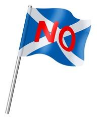 Scottish referendum. NO
