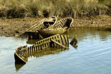 barcas muertas