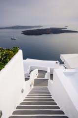 Stairway in Santorini