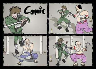Comic page design