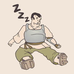 Sleep warrior