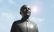 Leinwanddruck Bild - Nelson Mandela Statue