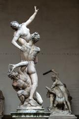 Sculpture of the Renaissance in Piazza della Signoria, Florence