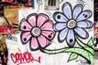 Graffiti fleurs