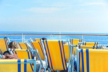 Relax during the cruise, italy